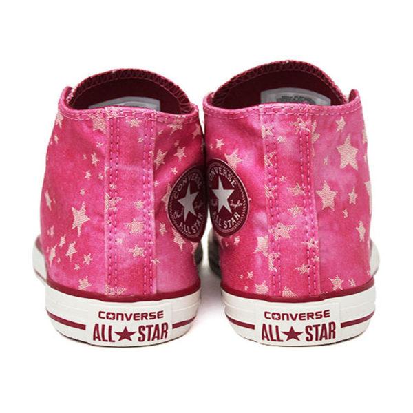 All star infantil chuck taylor hi stars rosa 2