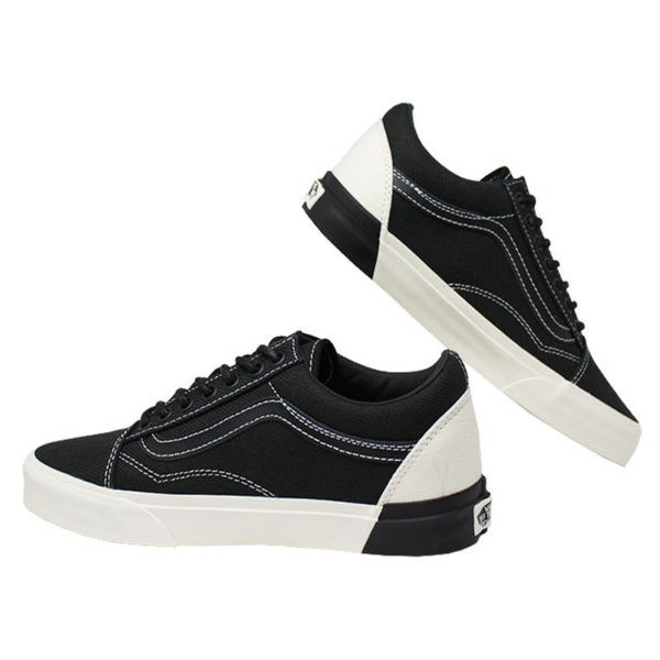 Tenis vans old skool dx classic white black 3