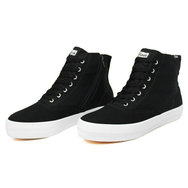 Tenis keds triple hi zip canvas preto 1