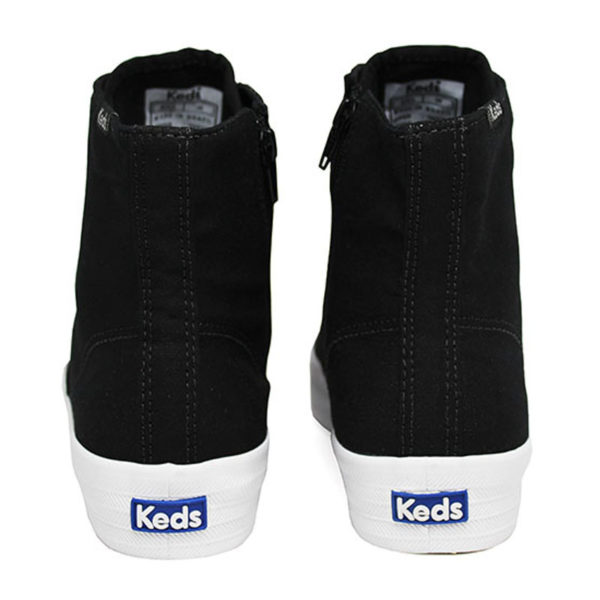Tenis keds triple hi zip canvas preto 3