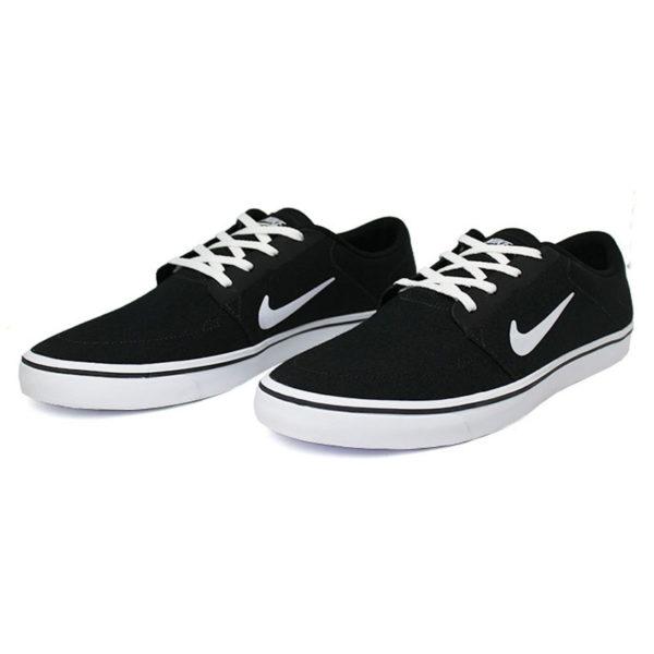 Nike sb portmore cnvs preto branco 1