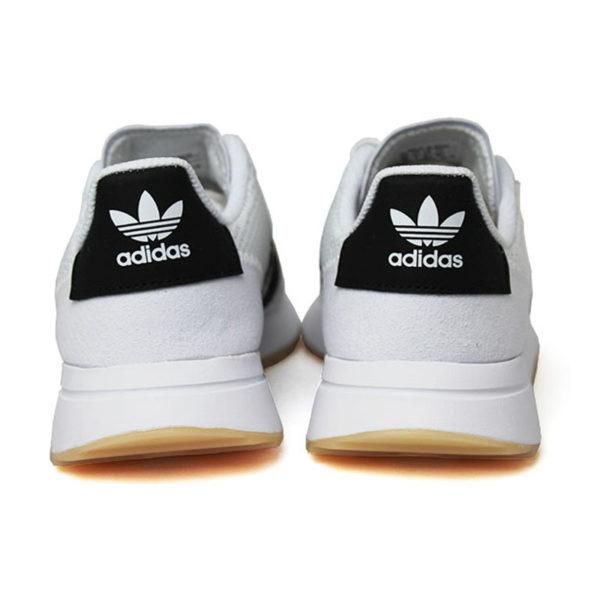 Tenis adidas flashback white black white 2