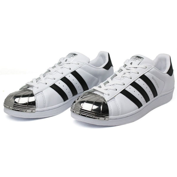 Tenis adidas superstar metal toe bc pt 1