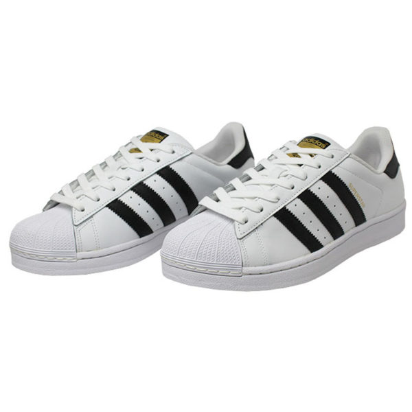 Tenis adidas superstar foundation white black whit 1