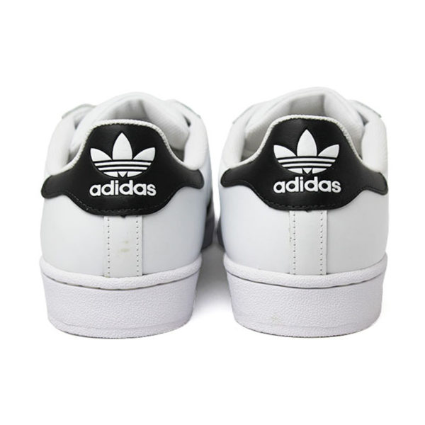 Tenis adidas superstar foundation white black whit 3