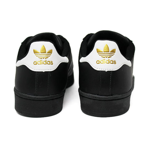 Tenis adidas superstar foundation black white blac 3