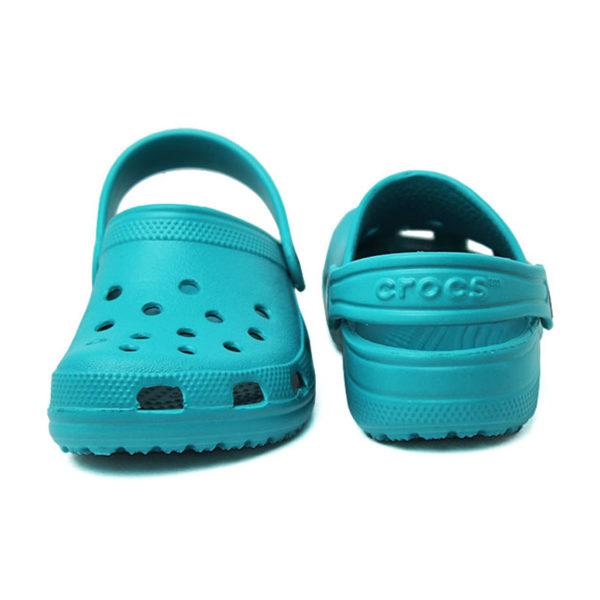 Crocs classic kids turquesa 2