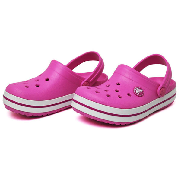 Crocs crocband kids party pink 2