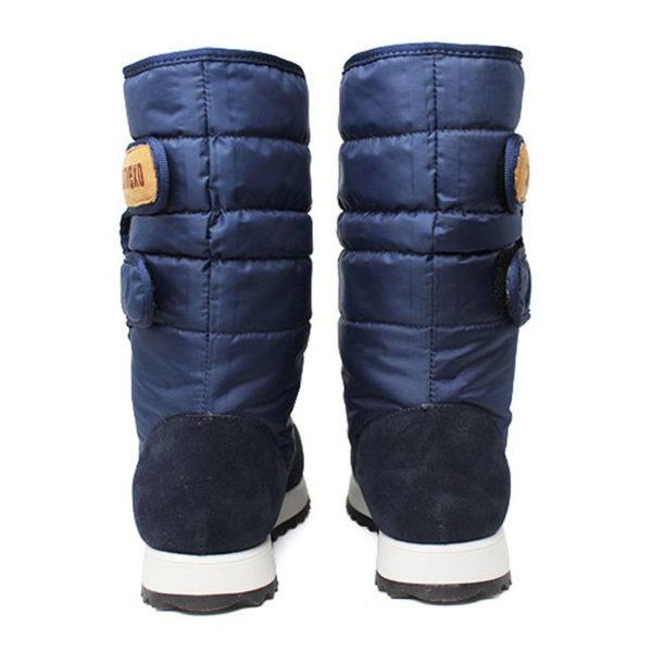 Bota convexo puff boot nylon com pele marinho 2