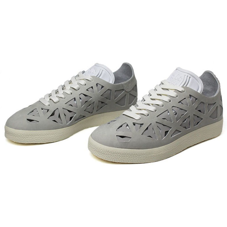 Tenis adidas gazelle cut out white white cream w 4