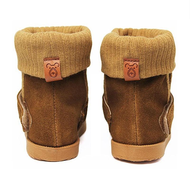 Perky moon boot baby camel 4