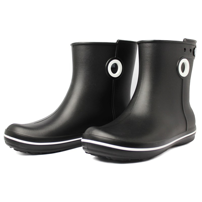 Crocs jaunt shorty boot black 1