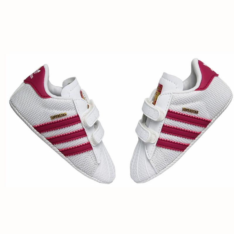 Tenis adidas superstar crib ftwwht bopink ftwwht 2