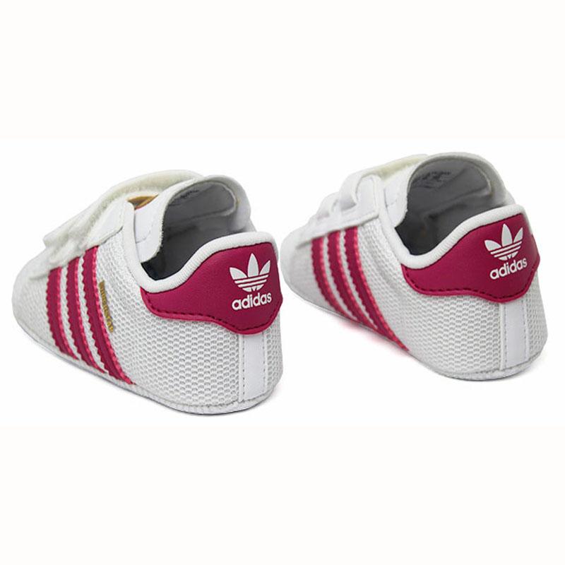 Tenis adidas superstar crib ftwwht bopink ftwwht 4