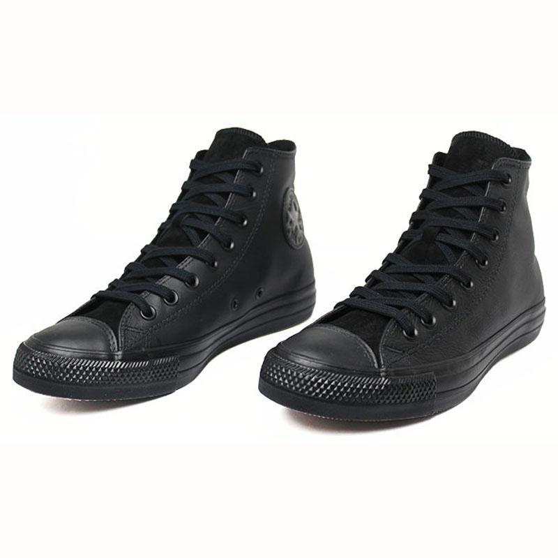 All star chuck taylor leather hi preto 1