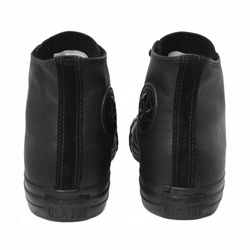 All star chuck taylor leather hi preto 4