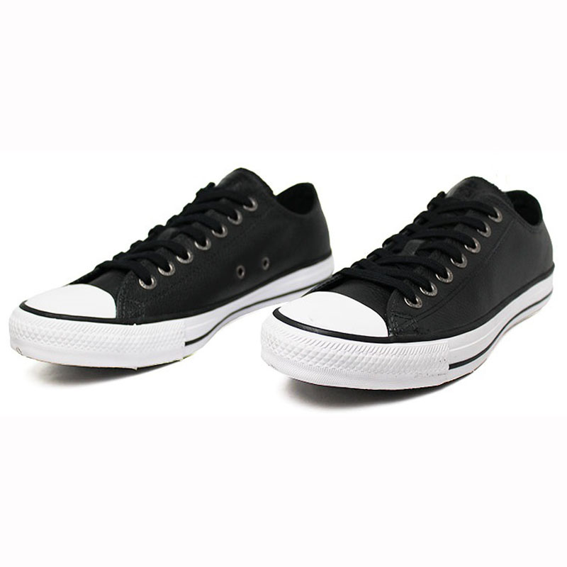 All star european leather ox preto 1