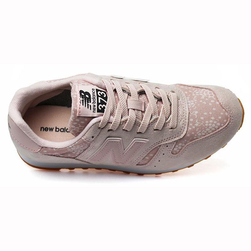 new balance 373 rosa e branco