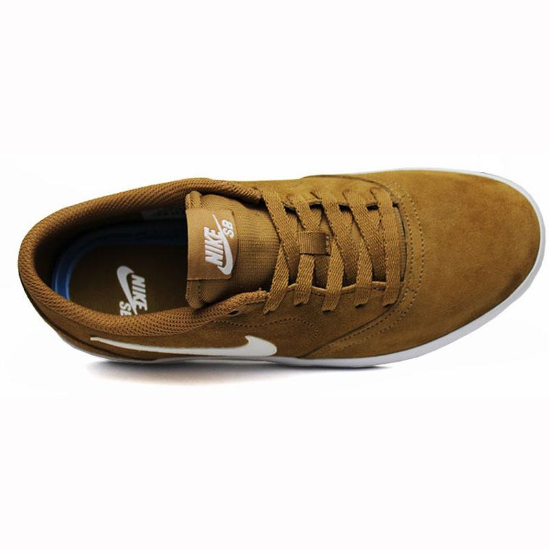 Nike sb check solar golden beige white 3