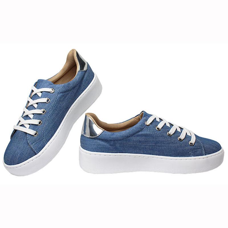 59ffd6e0fc3 Tenis convexo jeans summer 2