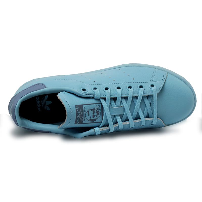 Adidas stan smith jun mono icey blue 3