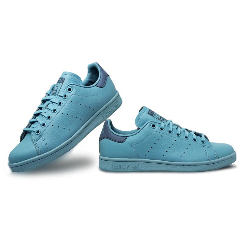 Adidas stan smith jun mono icey blue 4