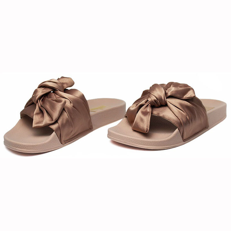 Chinelo convexo slide com no nude 1