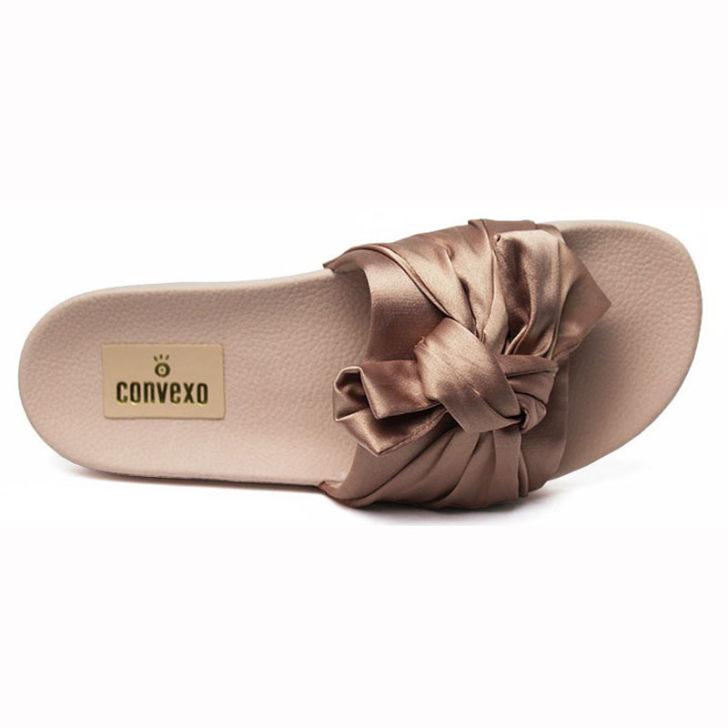 Chinelo convexo slide com no nude 2