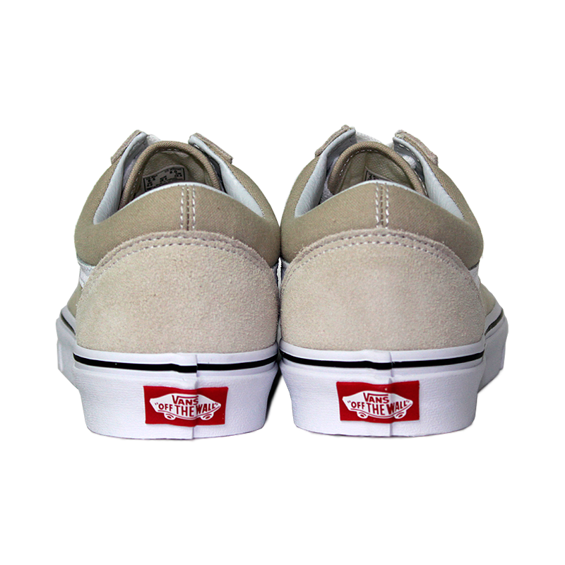 Tenis vans old skool silver lining true white 1
