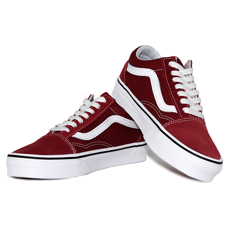 Tenis vans old skool apple butter true white 2