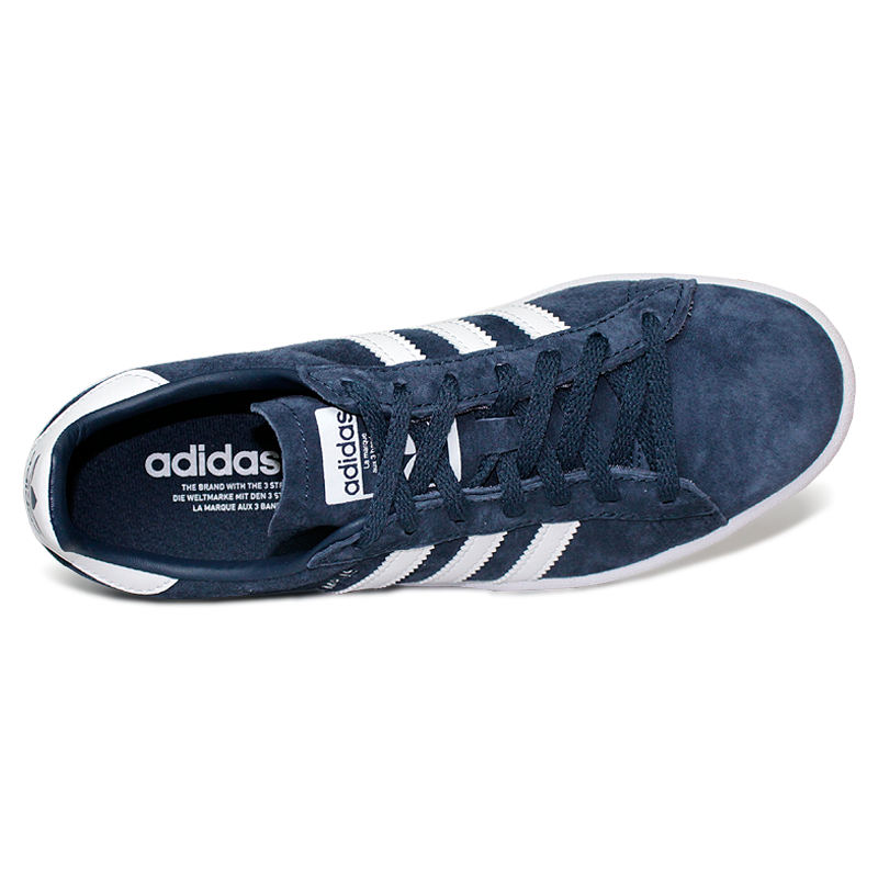 Tenis adidas campus w mineral blue running white 4