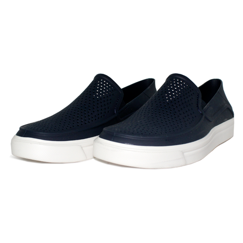 Crocs citilane roka slip on navy white 1