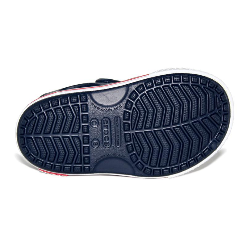 Crocbrand sandal ii kids navy white 3