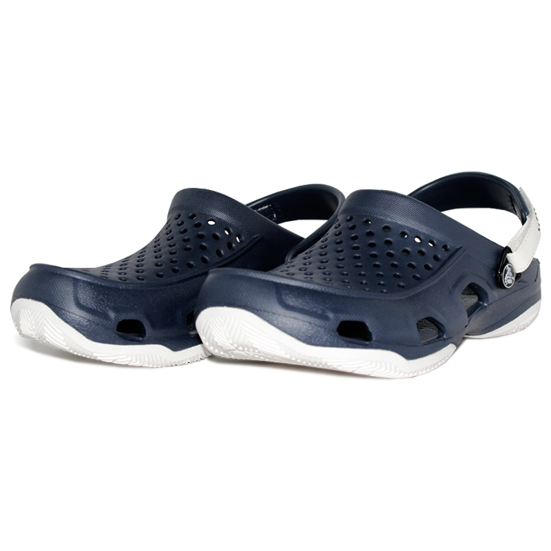 Crocs swiftwater deck navy white 2