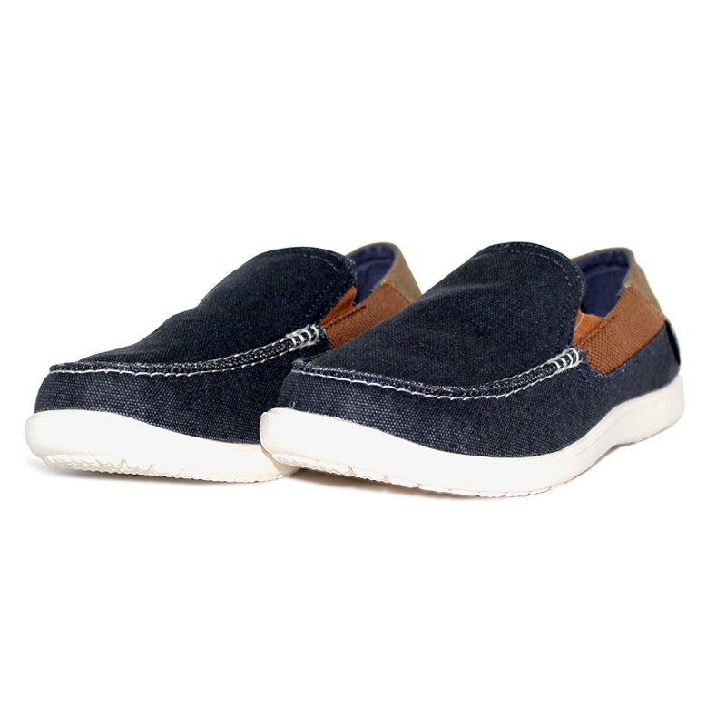 Crocs santa cruz 2 luxe navy hazelnut 2