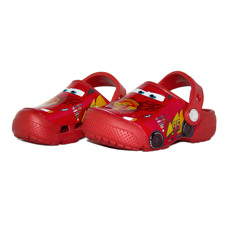 Crocs inf fun lab cars 3 movie clog flame 1