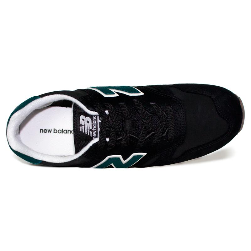 New balance 373 masculino preto verde 3