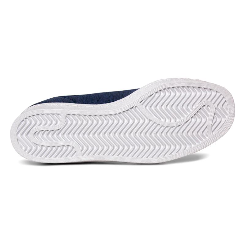 Adidas superstar slip on blue 1