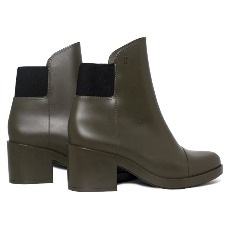 Melissa elastic boot verde militar 2