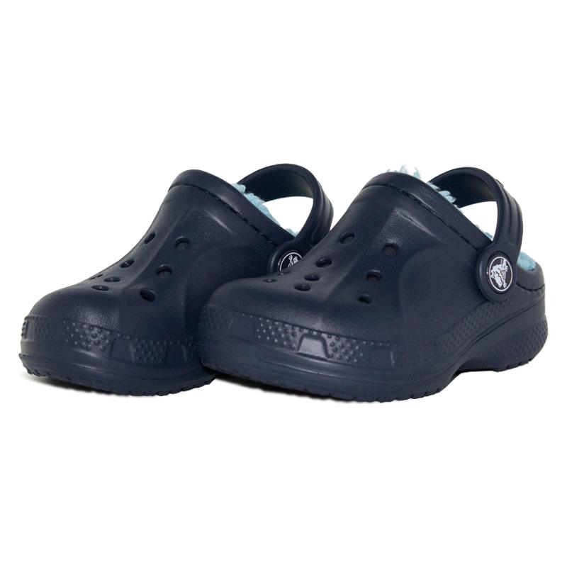 7fa229818 CROCS INFANTIL WINTER CLOG NAVY ELETRIC BLUE - Crocs é na Convexo ...