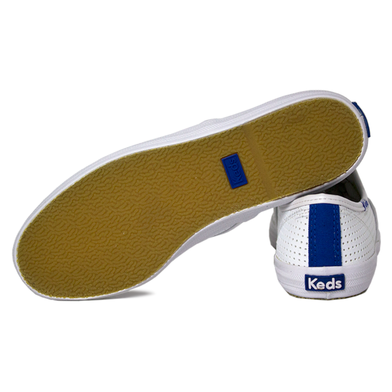 Tenis keds champion retro court perf branco 2