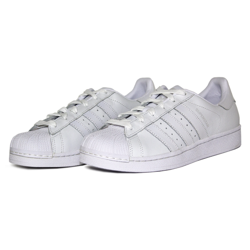 Adidas superstar white 1