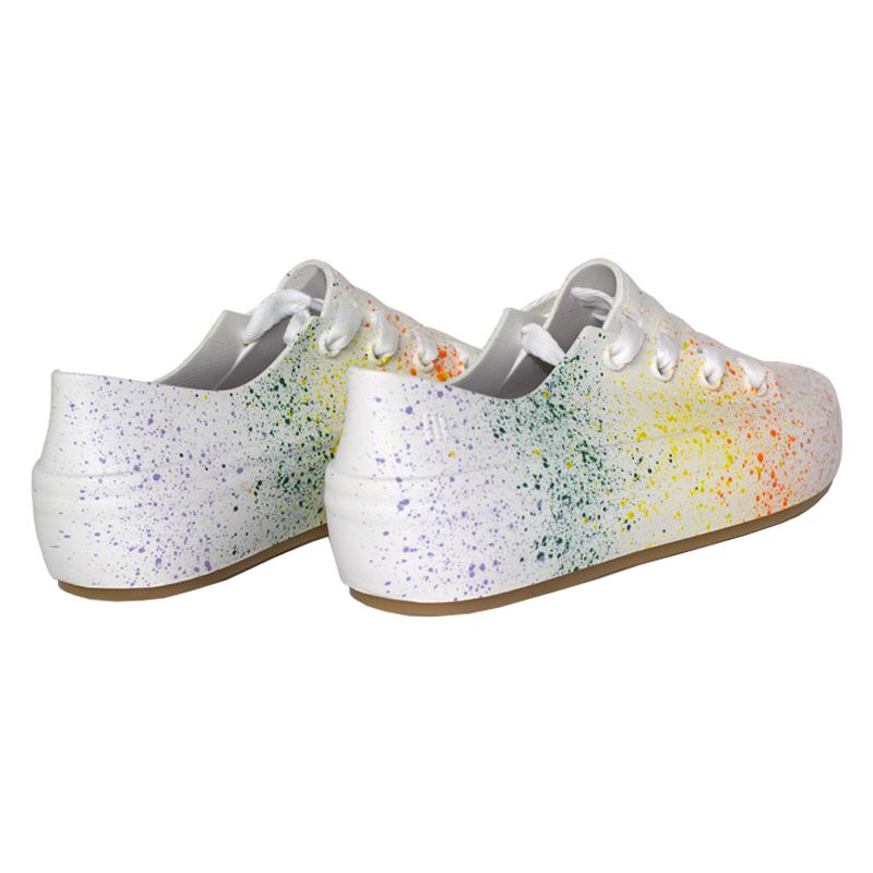 Melissa ulitsa sneaker splash branco color 1