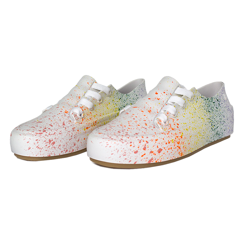 Melissa ulitsa sneaker splash branco color 2