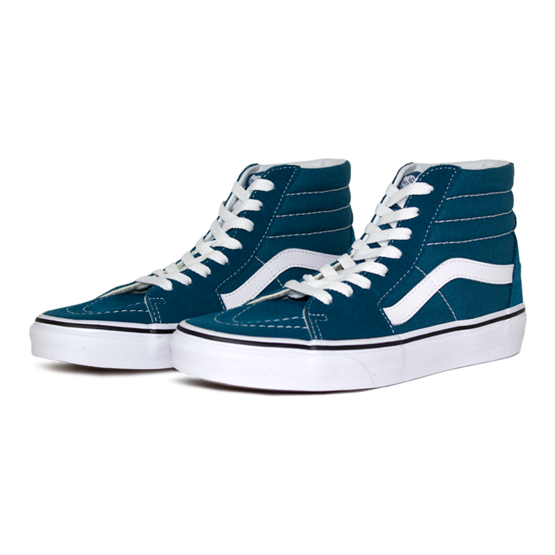 Tenis vans sk8 hi corsair blue true white 1
