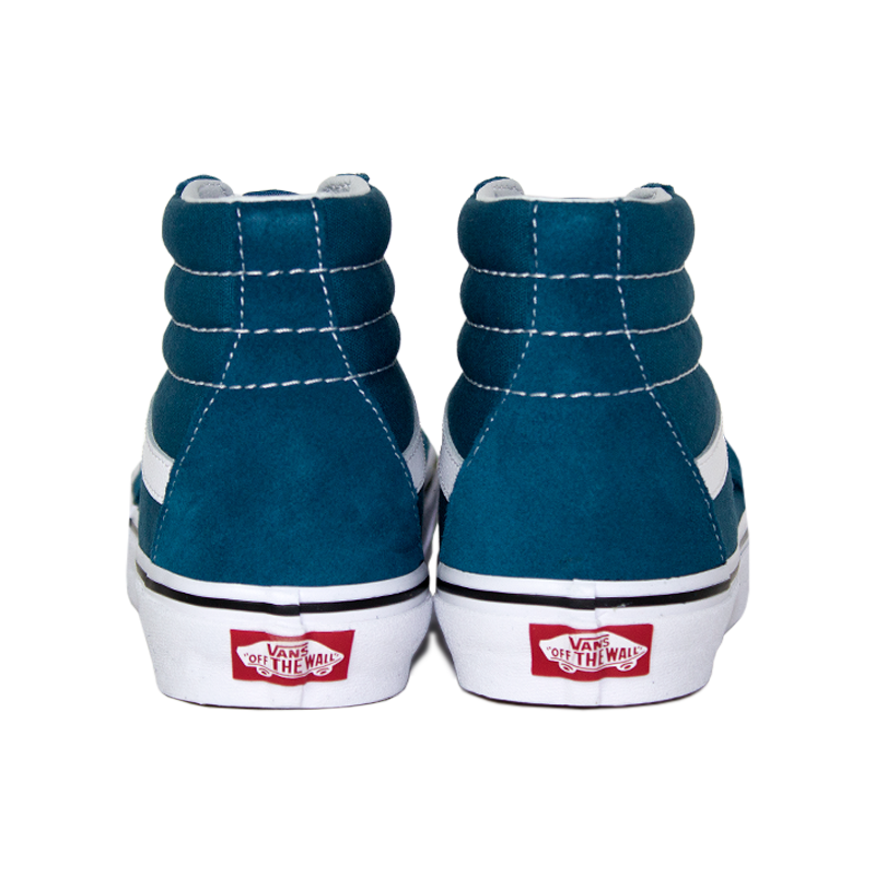 Tenis vans sk8 hi corsair blue true white 4