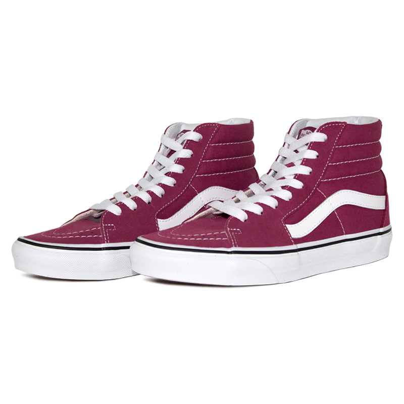 Tenis vans sk8 hi dry rose true white 2