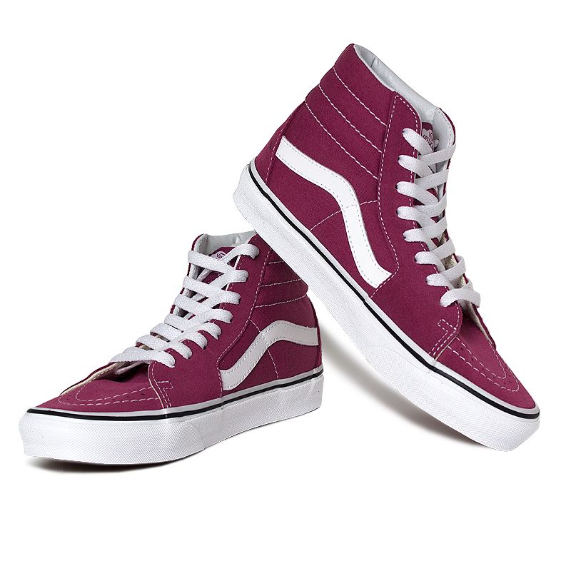 Tenis vans sk8 hi dry rose true white 4