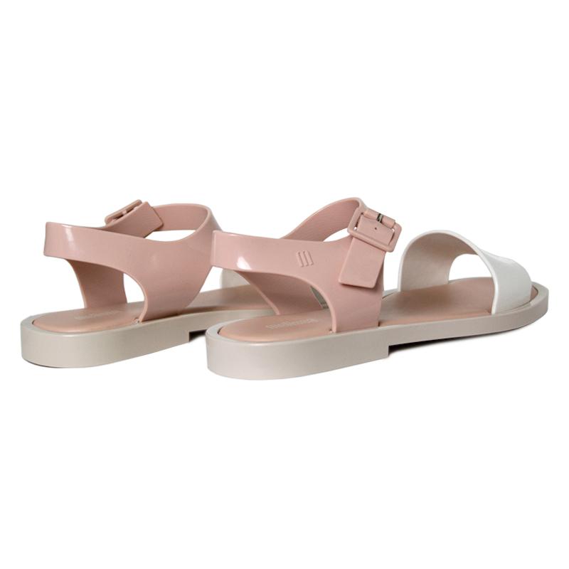 Melissa mar sandal branco rose bege 1