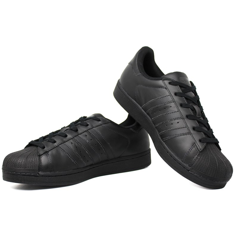 Tenis adidas superstar foundation preto 1